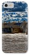 St Lucie Lock And Dam 3 IPhone Case by Dan Dennison