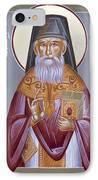 St Porphyrios The Kavsokalyvitis IPhone Case by Julia Bridget Hayes