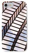 Stairway To Heaven IPhone Case by Rona Black