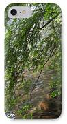 Stalking Trout IPhone Case by John Stephens
