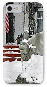 Standing Watch  IPhone Case by Chris Berry