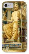 Statue Of Zeus At Oympia IPhone Case by English School