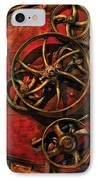 Steampunk - Clockwork IPhone Case by Mike Savad