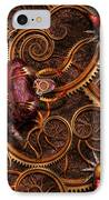 Steampunk - Insect - Itsy Bitsy Spiders IPhone Case by Mike Savad