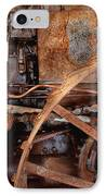 Steampunk - Machine - The Industrial Age IPhone Case by Mike Savad