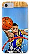 Steph Curry IPhone Case by Florian Rodarte