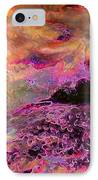 Stirrings In The Sea IPhone Case by Shirley Sirois
