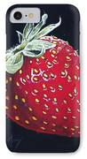 Strawberry IPhone Case by Aaron Spong