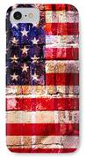 Street Star Spangled Banner IPhone Case by Delphimages Photo Creations