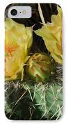 Summer Cactus Blooms IPhone Case by Kae Cheatham
