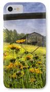 Summer Fields IPhone Case by Debra and Dave Vanderlaan