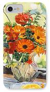 Summer House Still Life IPhone Case by David Lloyd Glover