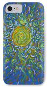 Sun Burst Of Squiggles IPhone Case by Stefan Duncan