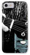 Sunset Country Pickin IPhone Case by Kristie  Bonnewell