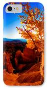Sunset Fall IPhone Case by Chad Dutson