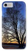 Sunset Over Valley Forge IPhone Case by Olivier Le Queinec