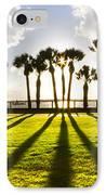 Sunset Sentinels IPhone Case by Debra and Dave Vanderlaan