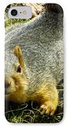 Surprise Mister Squirrel IPhone Case by Shawna Rowe