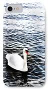 Swan IPhone Case by Mark Rogan