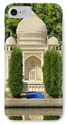 Taj Mahal IPhone Case by Ricky Barnard