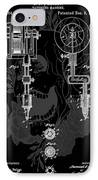 Tattoo Gun Patent IPhone Case by Dan Sproul