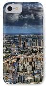 Tel Aviv Love IPhone Case by Ron Shoshani