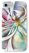 Tendrils 04 IPhone Case by Amanda Moore