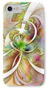 Tendrils 06 IPhone Case by Amanda Moore