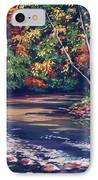Tennessee Stream In The Fall IPhone Case by John Clark