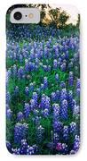 Texas Bluebonnet Field IPhone Case by Inge Johnsson