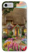 Thatched Cottage IPhone Case by Adrian Chesterman