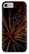 The Art Of Fireworks  IPhone Case by Saija  Lehtonen