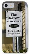 The Barrow IPhone Case by Allan Morrison