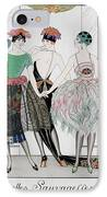 The Beautiful Savages IPhone Case by Georges Barbier