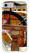 The Captain's Wheel IPhone Case by Karen Wiles