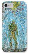 The Drama Of The Earth IPhone Case by Fabrizio Cassetta