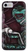 The Final Awakening  IPhone Case by  Abril Andrade Griffith