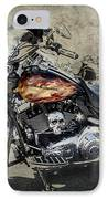 The Flame IPhone Case by Jeff Swanson