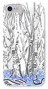 The Forest For The Trees An Aceo IPhone Case by Regina Valluzzi