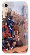 The French Legion Storming A Carlist IPhone Case by English School
