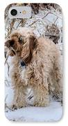 The Fur Coat IPhone Case by JC Findley