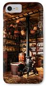 The General Store In My Basement IPhone Case by Olivier Le Queinec