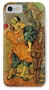 The Good Samaritan After Delacroix 1890 IPhone Case by Vincent Van Gogh