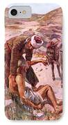 The Good Samaritan IPhone Case by Harold Copping