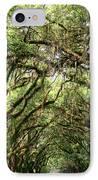The Green Mile Savannah Ga IPhone Case by William Dey