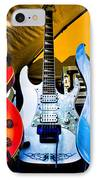The Guitars Of Jimmy Dence - The Kingpins IPhone Case by David Patterson