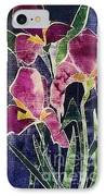 The Iris Melody IPhone Case by Sherry Harradence