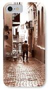 The Jazz Man IPhone Case by John Rizzuto