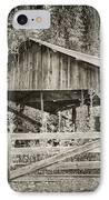 The Last Barn IPhone Case by Joan Carroll