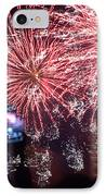 The Milky Way Explosion  IPhone Case by Tim Leung
